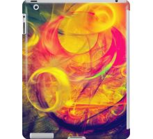 Gondolier - colorful digital abstract art by Gordan P. Junior iPad Case/Skin