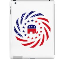 Republican Murican Patriot Flag Series iPad Case/Skin