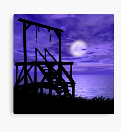 Beauty of Death Canvas Print