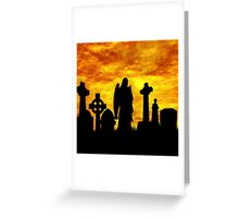 Beauty in the Grave  Greeting Card