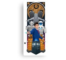 Time Lord Victorious Canvas Print