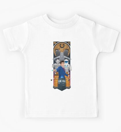 Time Lord Victorious Kids Tee