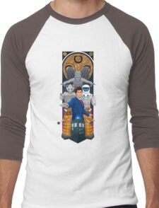 Time Lord Victorious Men's Baseball ¾ T-Shirt