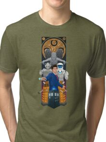 Time Lord Victorious Tri-blend T-Shirt