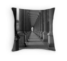 Columns Throw Pillow