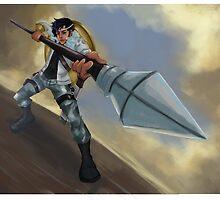 Huntress by jinjinz