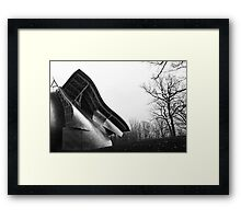 Silhouette Shine, Frank Gehry, Bard College, New York State Framed Print