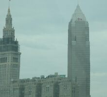Cleveland, Ohio Skyline Downtown by Bea Godbee