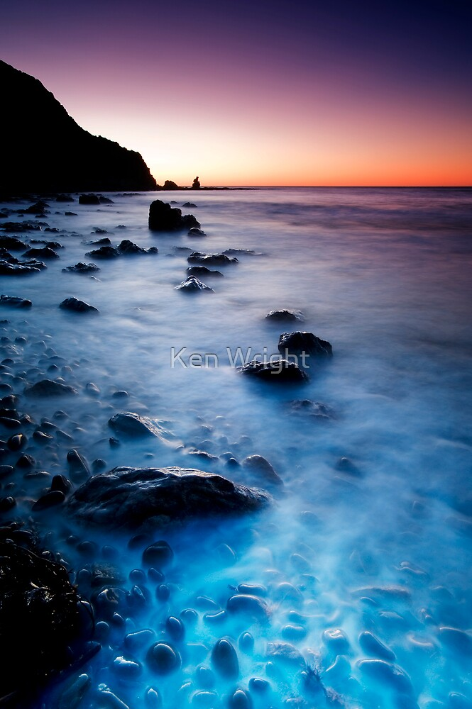 Jelly Bean Rumble at Dusk by Ken Wright