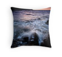 Rush Hour at Makara Throw Pillow