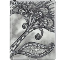 Carbon Space Flower 4 iPad Case/Skin