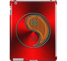 Aquarius & Tiger Yang Wood iPad Case/Skin
