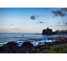 lungomare castellese Photographic Print