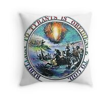 Rebellion To Tyrants Is Obedience To God Throw Pillow
