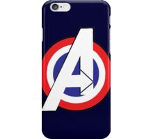 Avengers -  Captain America Style iPhone Case/Skin