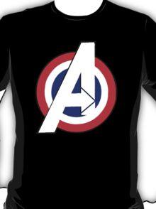 Avengers -  Captain America Style T-Shirt