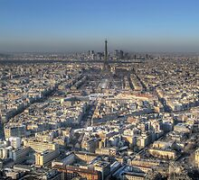 Paris from Montparnasse by Paul Ryan