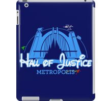 Hall (or Castle) of Justice iPad Case/Skin