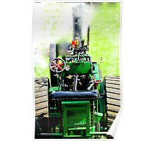small scale steam Poster