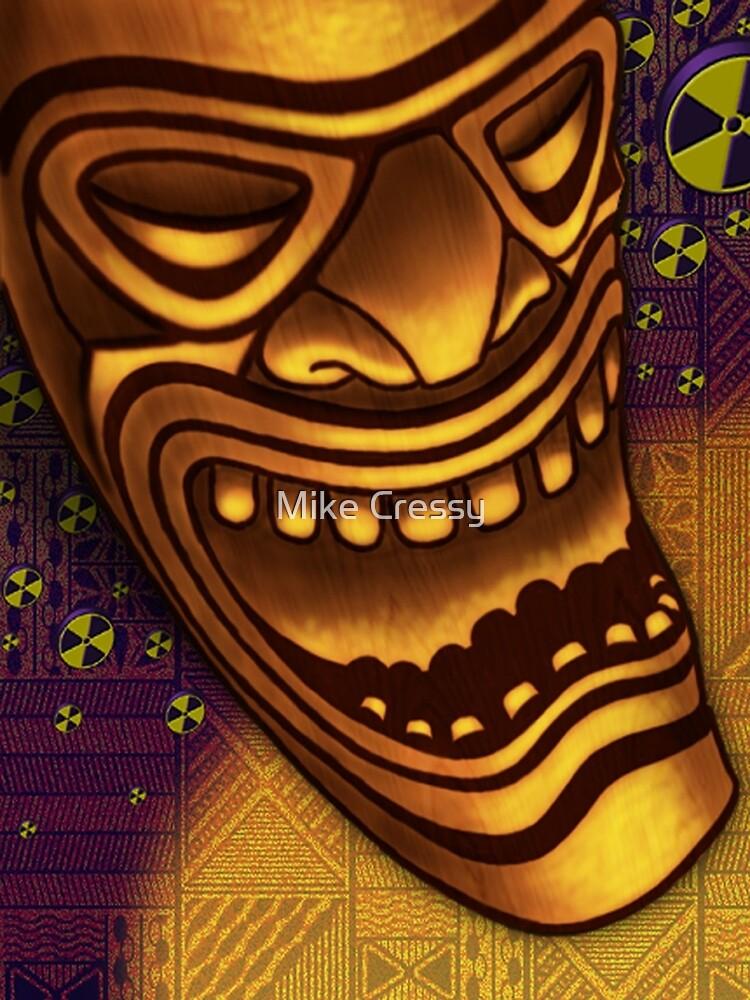 Laughing Tiki by Mike Cressy