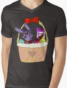 Five Nights at Freddy's - The Easter Bonnie Mens V-Neck T-Shirt
