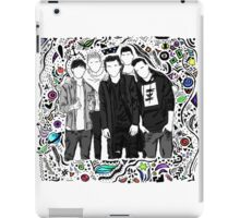 one direction [illustrated] iPad Case/Skin