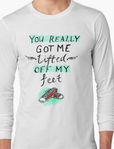 lifted off my feet (illusion) Long Sleeve T-Shirt