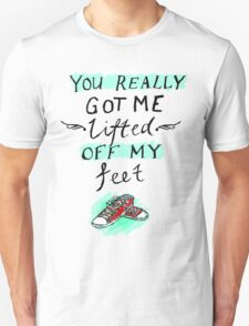 lifted off my feet (illusion) Unisex T-Shirt