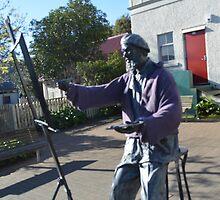 Charles Meryon Statue by Judi Rustage