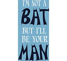 Bat Funny Geek Nerd Photographic Print