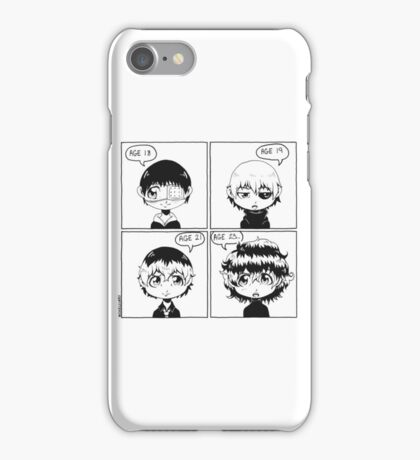Tokyo Ghoul: The Hair-volution iPhone Case/Skin