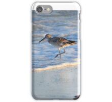Sandpiper In Surf iPhone Case/Skin