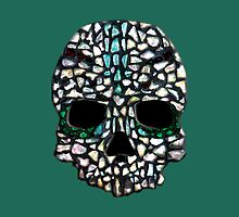 Sea Glass Skull Mosaic by rlbellamy