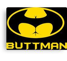 Buttman Funny Geek Nerd Canvas Print