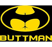 Buttman Funny Geek Nerd Photographic Print
