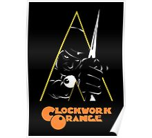 A Clockwork Orange (Airbrushed) Poster
