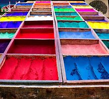 Assortment of colours by cloudcreative