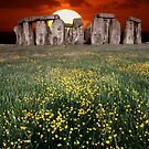 STONEHENGE SUNSET by kfbphoto