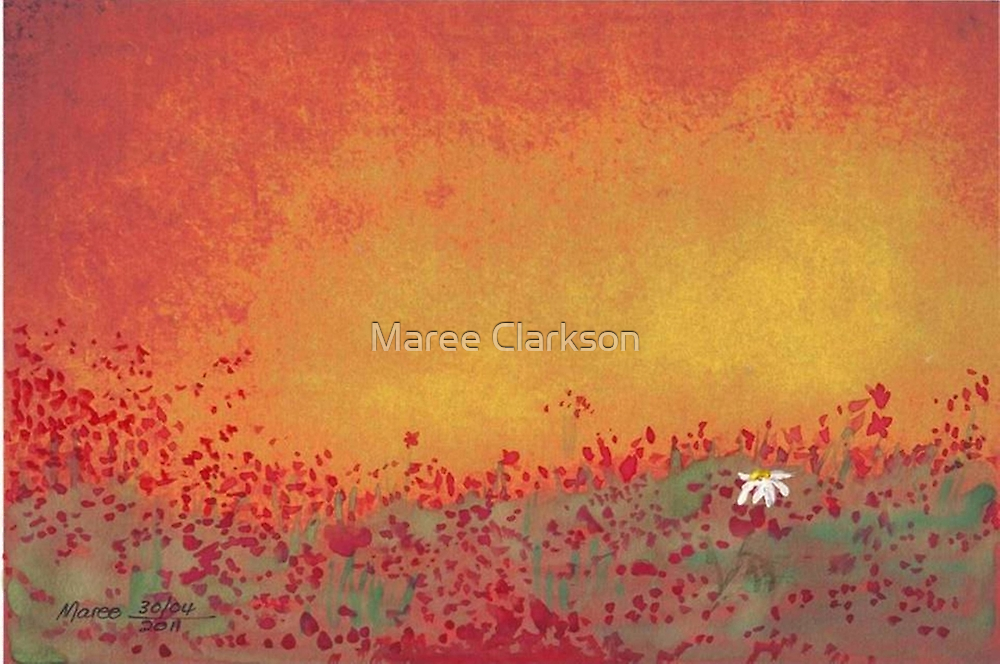 Standing out in the crowd... by Maree  Clarkson