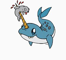 Narwhal with seal  T-Shirt