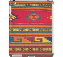 Colorful red Aztec Pattern iPad Case/Skin