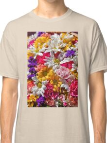 Be like the flower, turn your face to the sun. Classic T-Shirt
