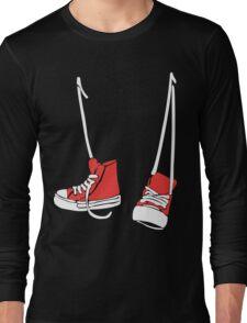 Chuck Shoes Funny Geek Nerd Long Sleeve T-Shirt