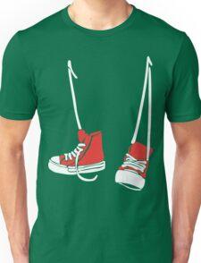 Chuck Shoes Funny Geek Nerd Unisex T-Shirt