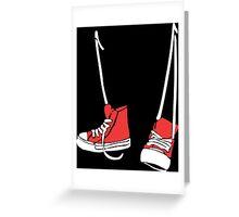 Chuck Shoes Funny Geek Nerd Greeting Card