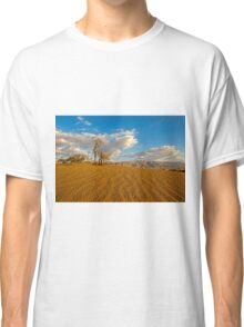 Dead Acacia tree in the Aravah Desert, Israel Classic T-Shirt