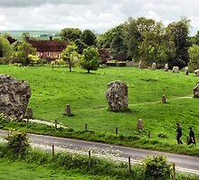 Avebury Stone Circle by Carole-Anne