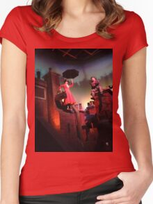 Mary Poppins- The Great Movie Ride Women's Fitted Scoop T-Shirt