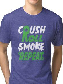 Crush Rol Funny Geek Nerd Tri-blend T-Shirt