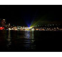 Vivid - Light Projectors Photographic Print